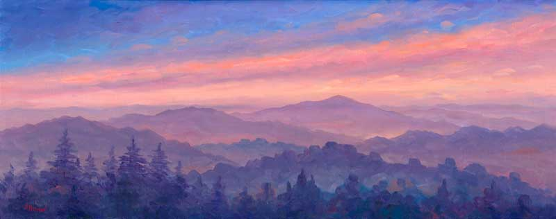Asheville North Carolina Artist Painting